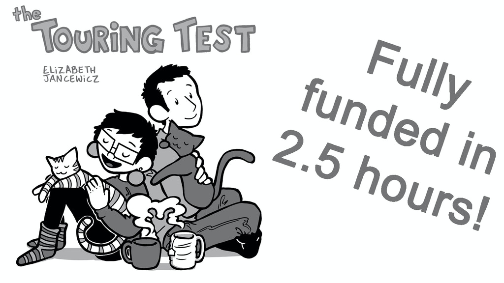 "Project image for ""The Touring Test"" physical book!"