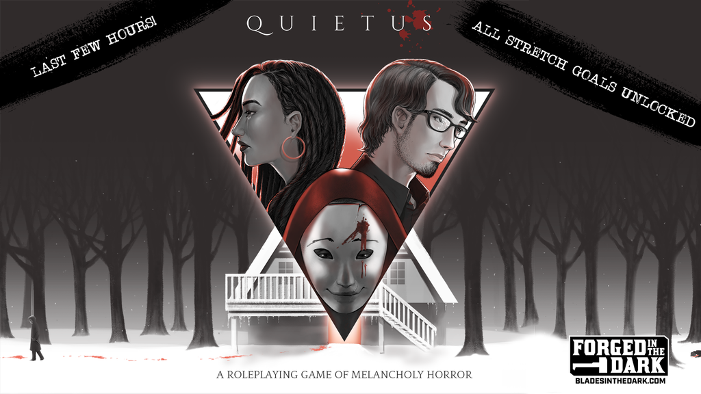 Quietus: a roleplaying game of melancholy horror project video thumbnail