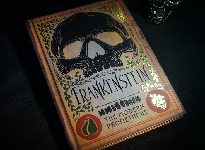 Printer's Proof of Frankenstein Illuminated
