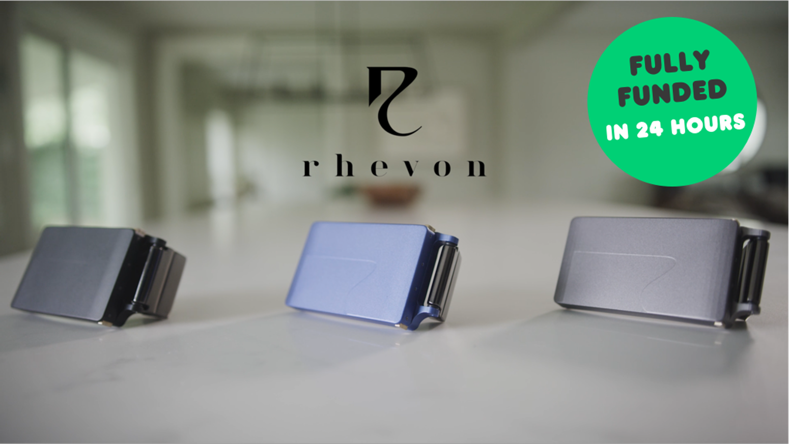 The Rhevon Flash wallet is discreet, comfortable, and always with you, without the unsightly pocket bulge.