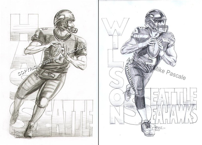 How about a hand-drawn original pencil portrait of your favorite player?