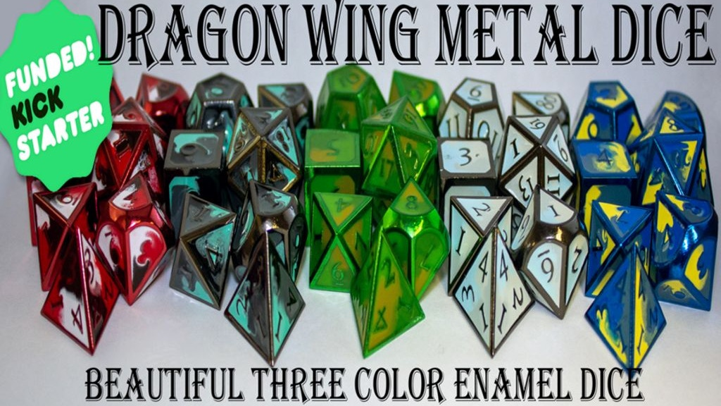 Dragon Metal: Wing Dice project video thumbnail