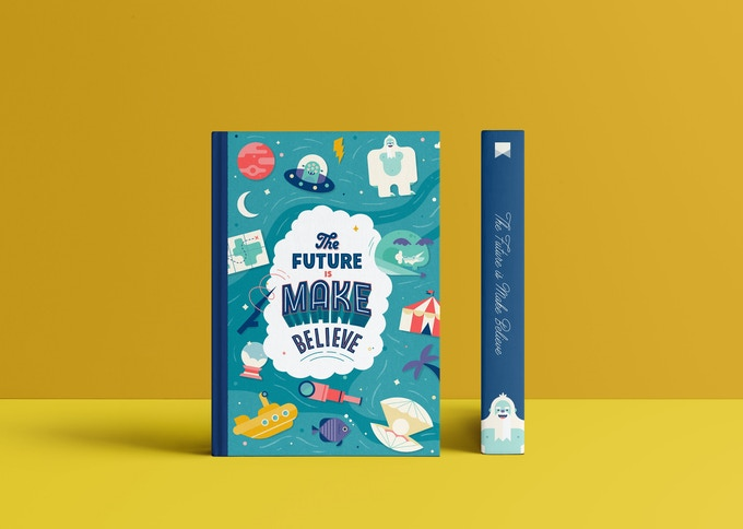 A mock-up of the front cover of the book