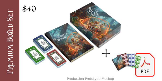 $40 Premium Box Set and PDFs option