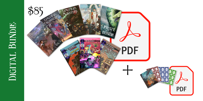 $85 Digital Bundle and PDFs option