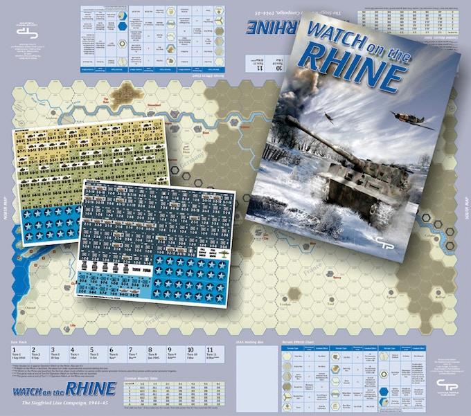 Watch on the Rhine: The Siegfried Line Campaign