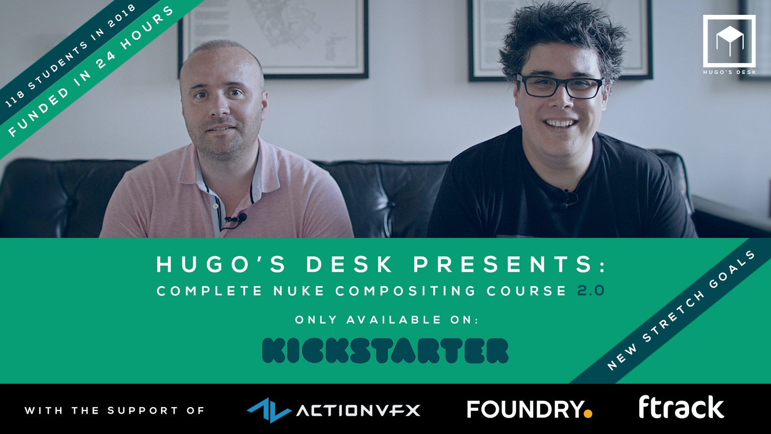 Hugo's Desk Presents: Complete Nuke Compositing course 2 0