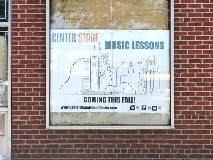 Center Stage Music Center at Massapequa Park.