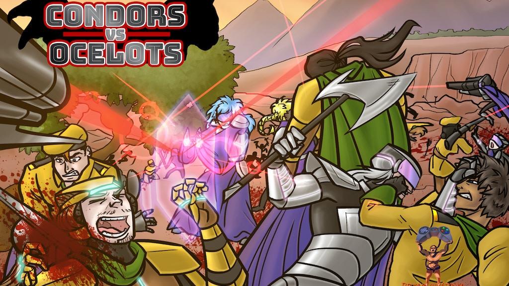 Condors VS. Ocelots project video thumbnail