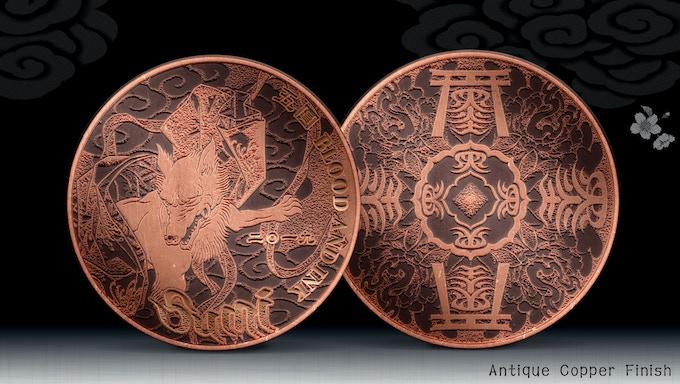 Antique Copper Finish