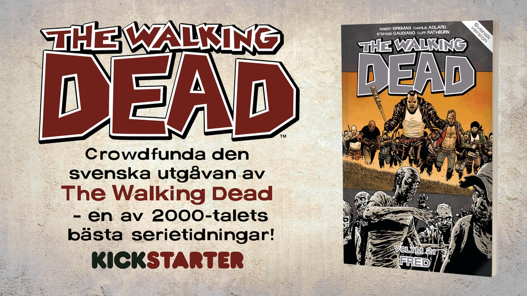 The Walking Dead som seriealbum – på svenska! project video thumbnail