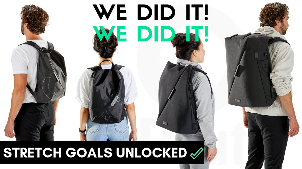 Secure Origami Travel Backpacks: RiutBag® X35 + Crush project video thumbnail