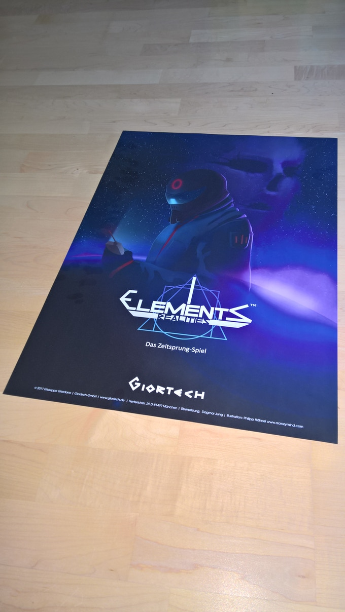 The Poster of Elements Realities
