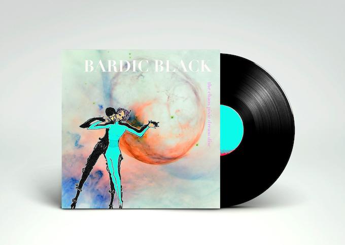 Mockup of the Bardic Black album cover