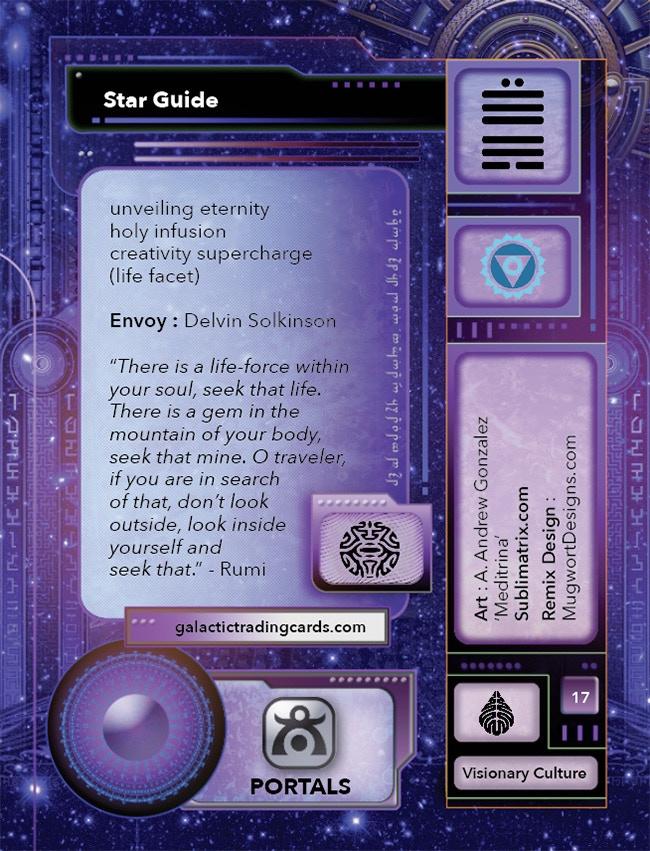 Galactic Trading Card Oracle by Delvin Solkinson — Kickstarter