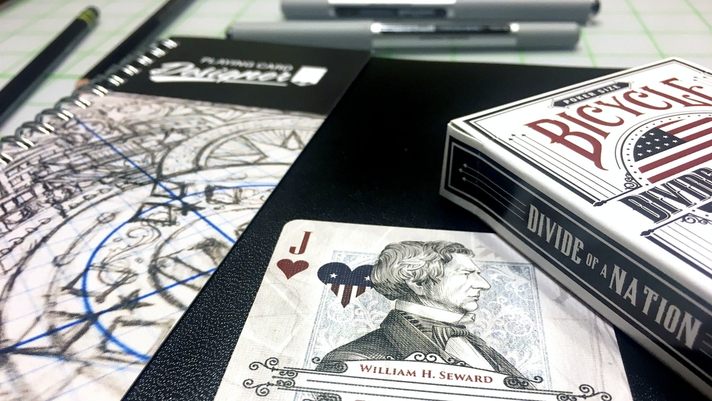 Playing Card Designer Sketchbook and Pad project video thumbnail