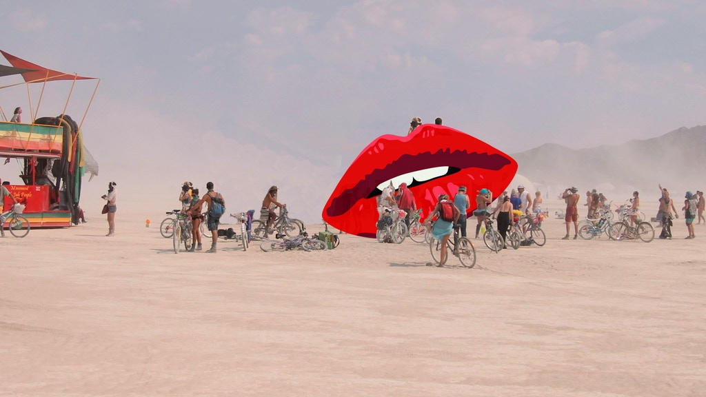 Lips — A Sculpture for Burning Man 2019 project video thumbnail