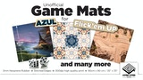 Hyper Vyper Game Mats for use with Azul, Flick'em Up & more thumbnail