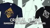 Critical Class - Dungeons and Dragons Inspired Apparel thumbnail