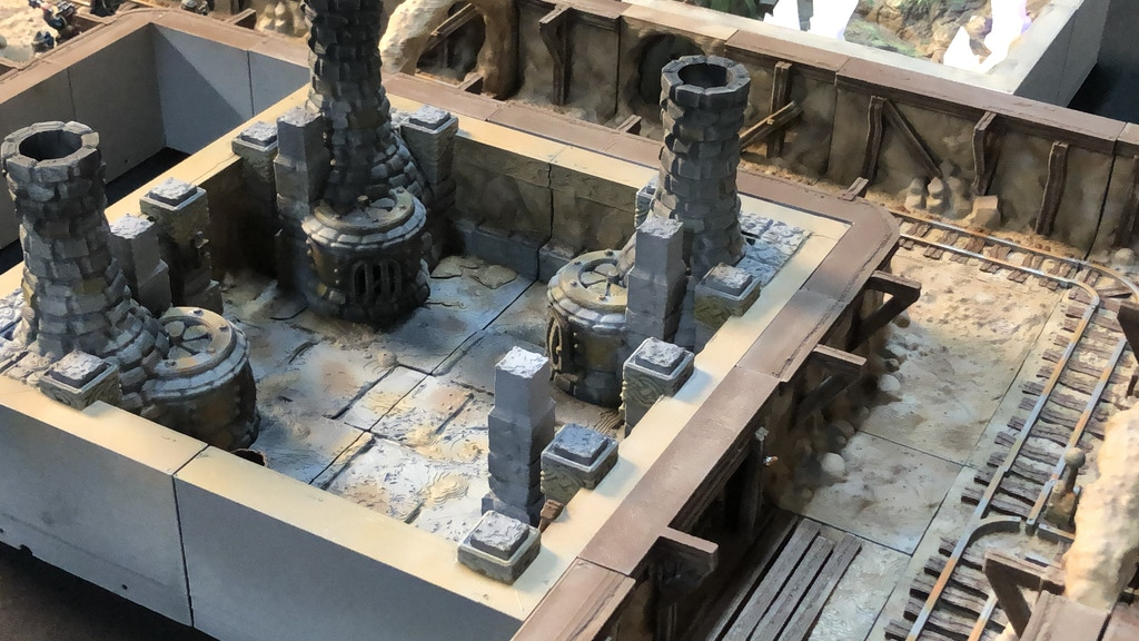 3D Printable Fantasy Dwarven Mine RPG Dungeon Tiles project video thumbnail