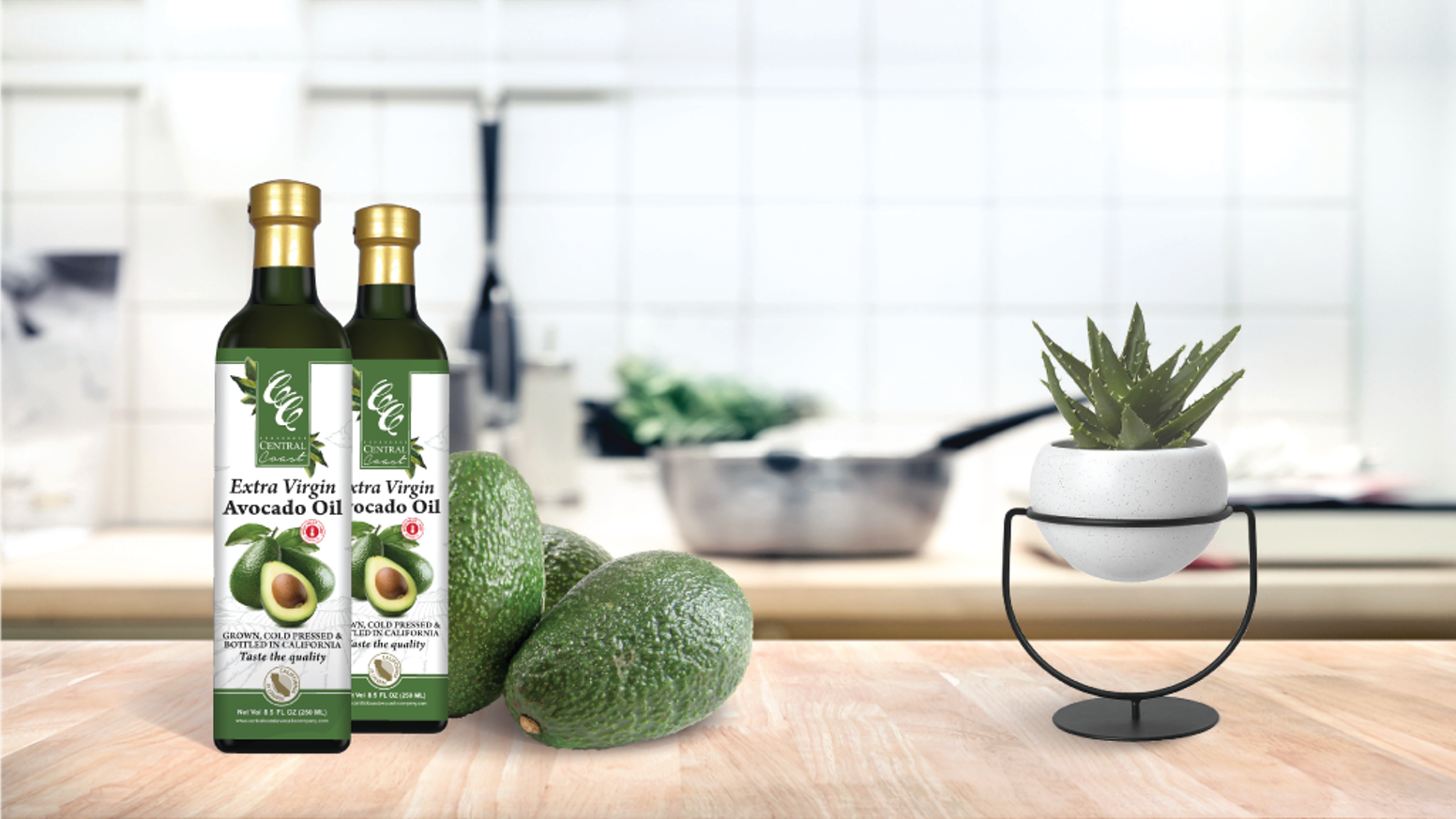 The Oil That Makes A Difference by Central Coast Avocado Co