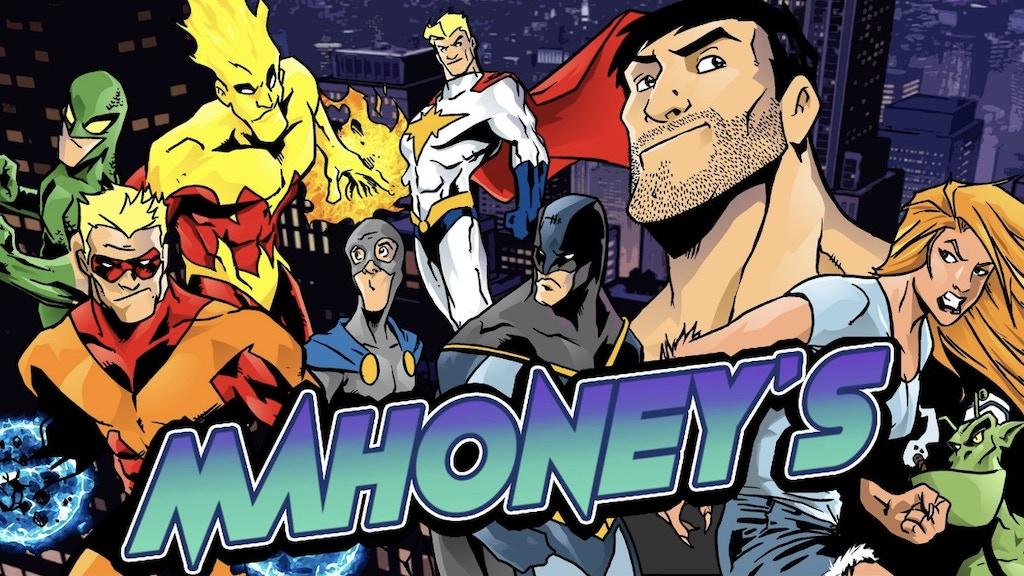 Mahoney's 2: Comedy meets comics in a bar for super villains project video thumbnail