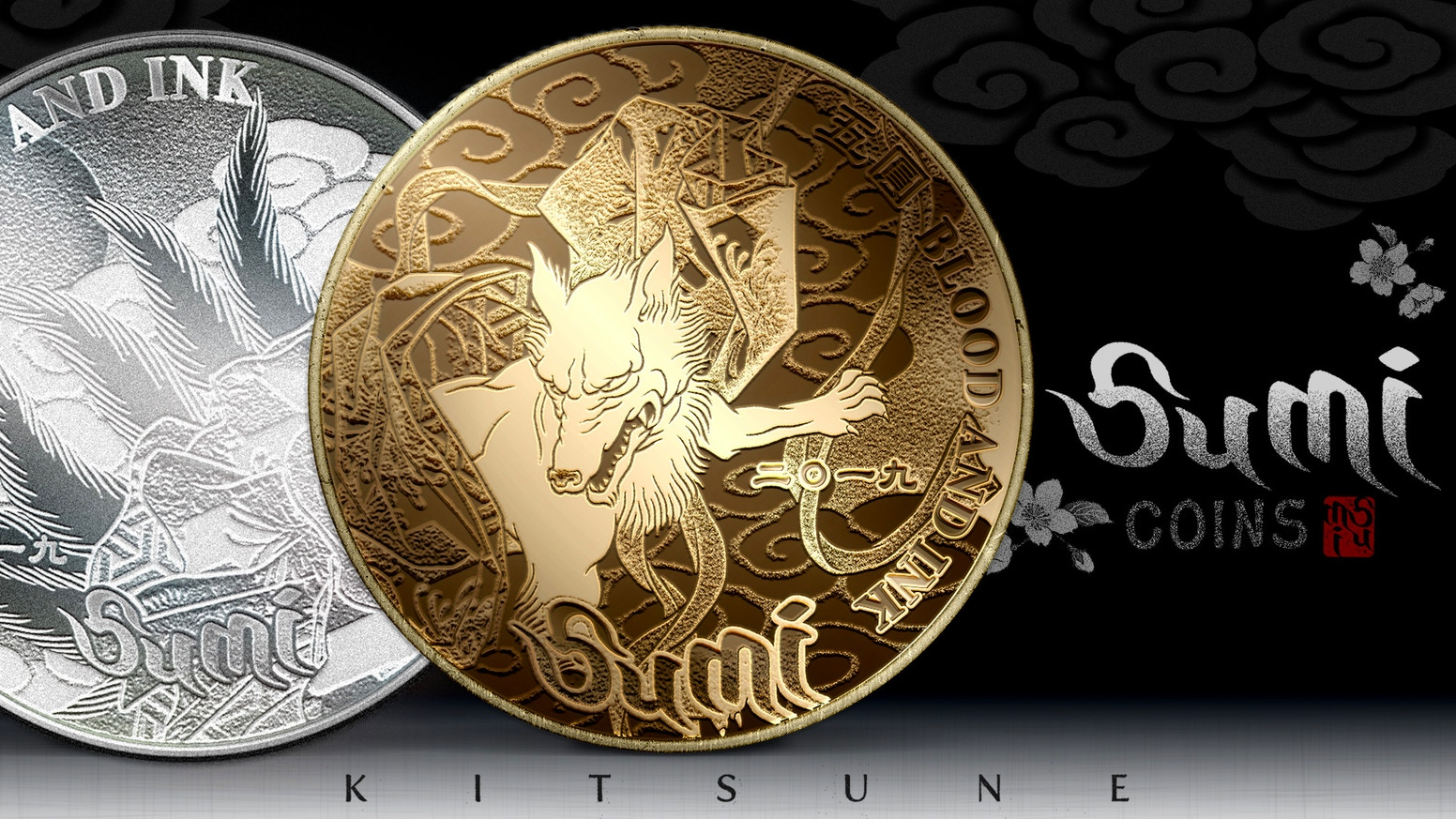 Pushing the limits of coin design again with Traditional Japanese tattoo art. An EDC staple made in USA.
