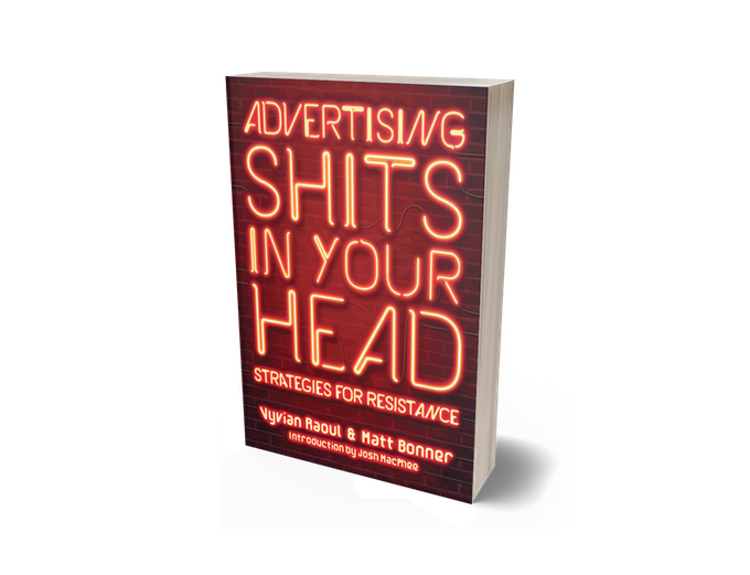 Advertising Shits in Your Head - cover mockup