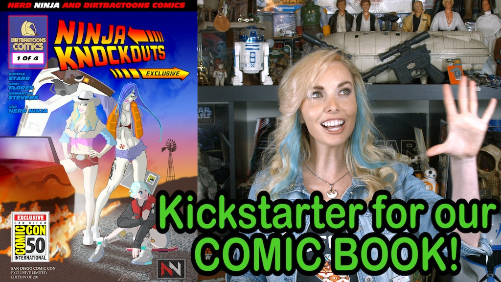 Ninja Knockouts Issue 1 SDCC project video thumbnail