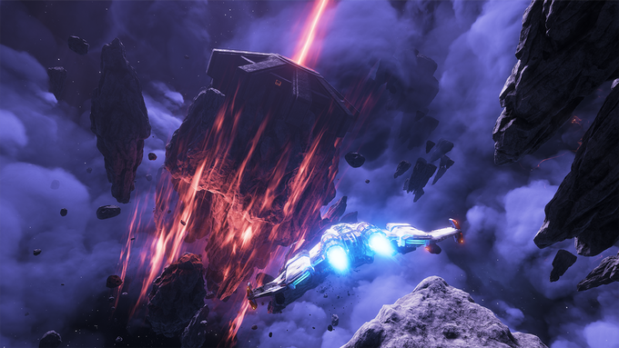 Ancient travel portals were already introduced in EVERSPACE. Their destinations are not totally predictable, and passage does not come for - the portals are heavily protected by powerful Ancient Guardians.