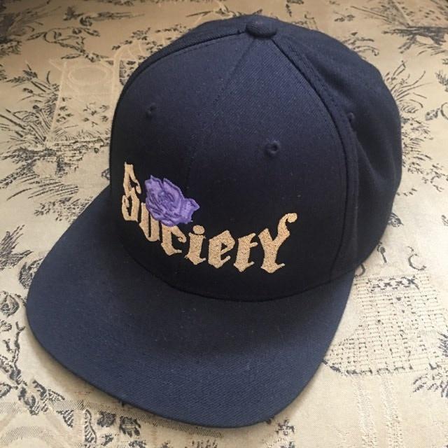 """""""Society 1900"""" snapback ball cap"""