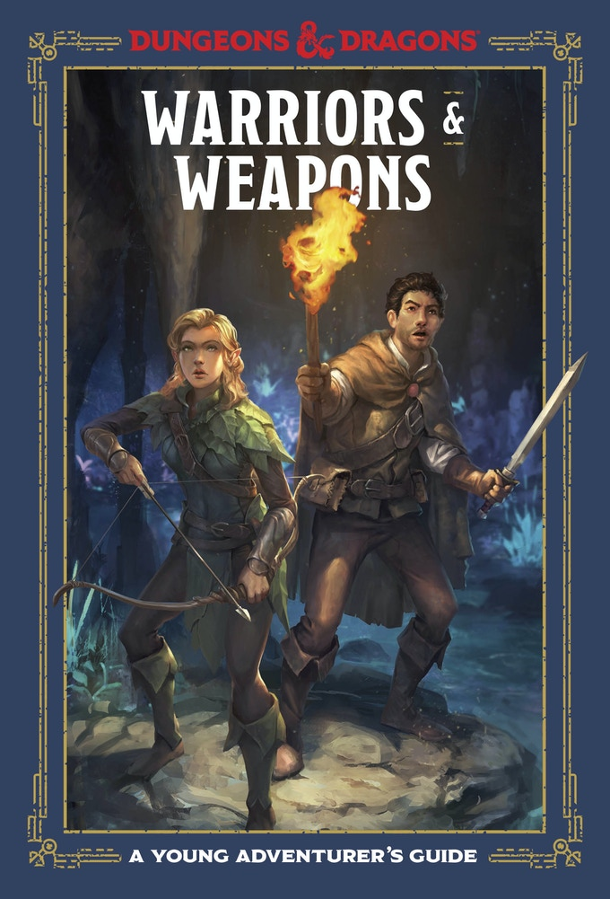 Warriors & Weapons, produced by TenSpeed Press. Lovingly Illustrated cover to cover by Conceptopolis, our parent company.