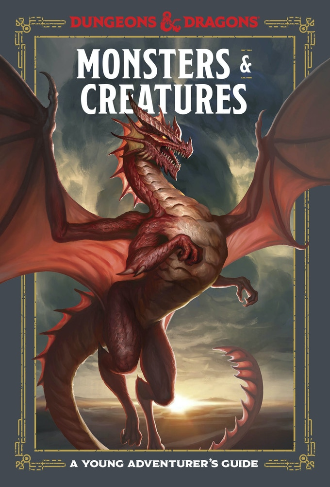 Monsters & Creatures, produced by TenSpeed Press. Lovingly Illustrated cover to cover by Conceptopolis, our parent company.