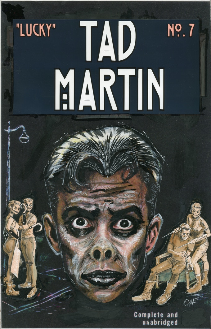 Cover for Tad Martin #7 by Casanova Frankenstein