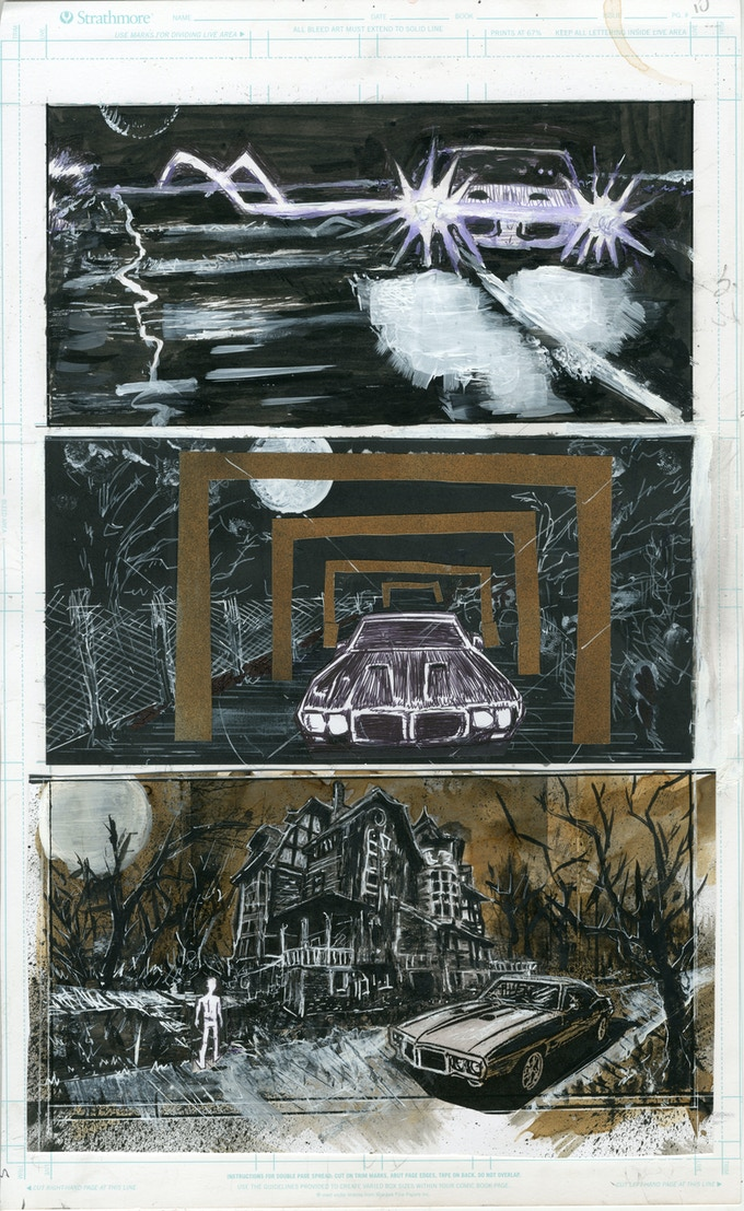 Page from Tad Martin #7 by Casanova Frankenstein