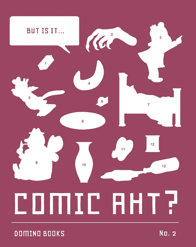 Cover for But is it...Comic Aht? #2 by Lilli Carré