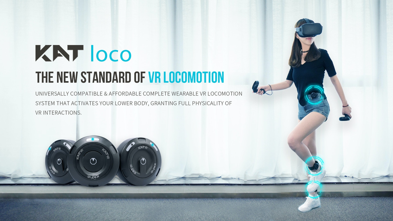 KAT loco: Complete Wearable Locomotion System - Walk into VR
