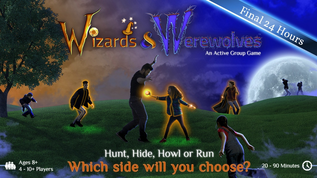 Wizards & Werewolves: A Glow-in-the-Dark Outdoor Game project video thumbnail