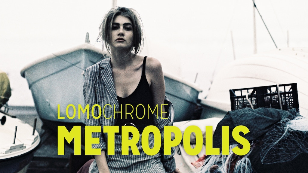 LomoChrome Metropolis XR 100–400 Film project video thumbnail