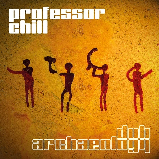 Professor Chill's vinyl album, with me on the first track