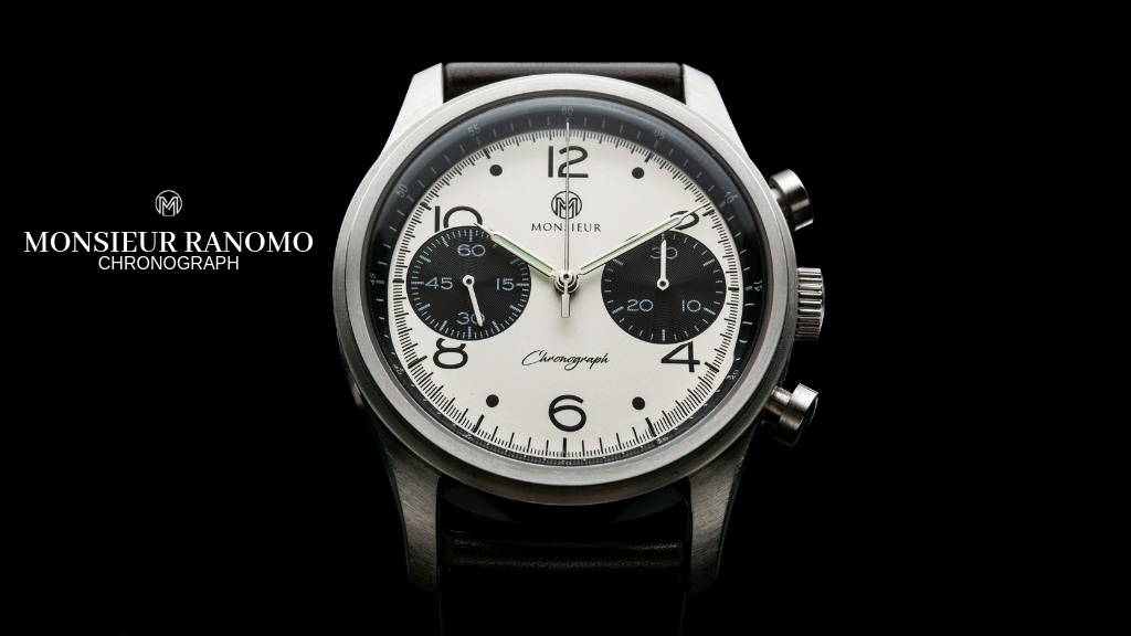 Monsieur Ranomo - A Classic Mechanical Chronograph Watch project video thumbnail