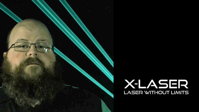 Adam Raugh, President, X-LASER