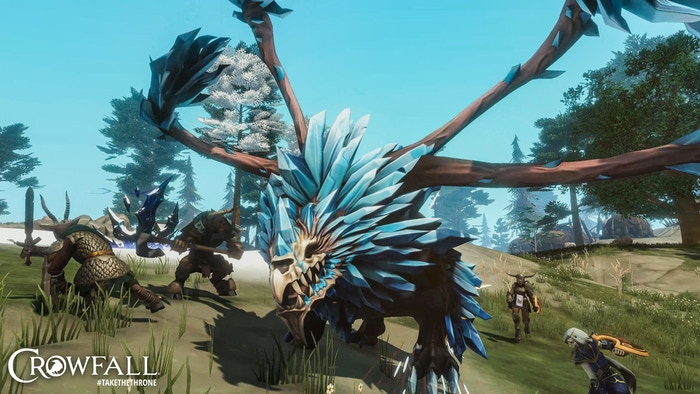 Crowfall - Throne War PC MMO by ArtCraft Entertainment, Inc