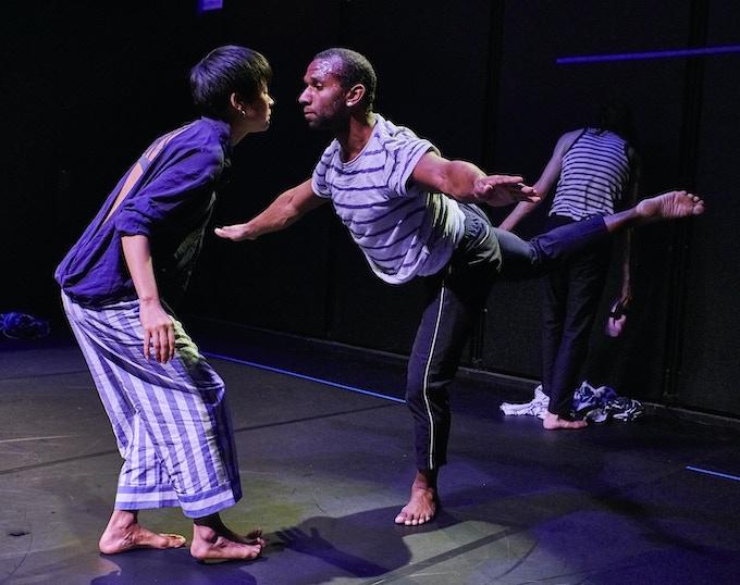 Blue Room (NYC Premere 2018) Dancers: Mei Yamanaka, Nikolas Owens, Jordan Morley