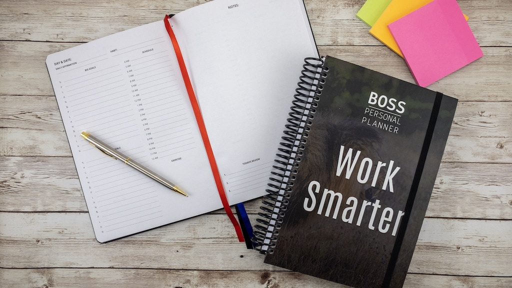 BOSS Personal Planner: Goal-Oriented Productivity System by