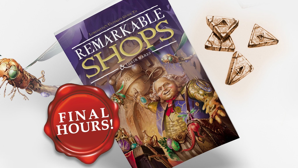Remarkable Shops & Their Wares project video thumbnail