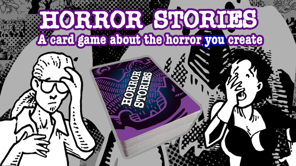 HORROR STORIES card game project video thumbnail