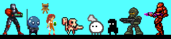 Characters from indie games!