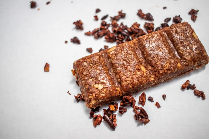 Cacao, rich in antioxidants, and macadamias, high in healthy fat, make this bar keto-licious