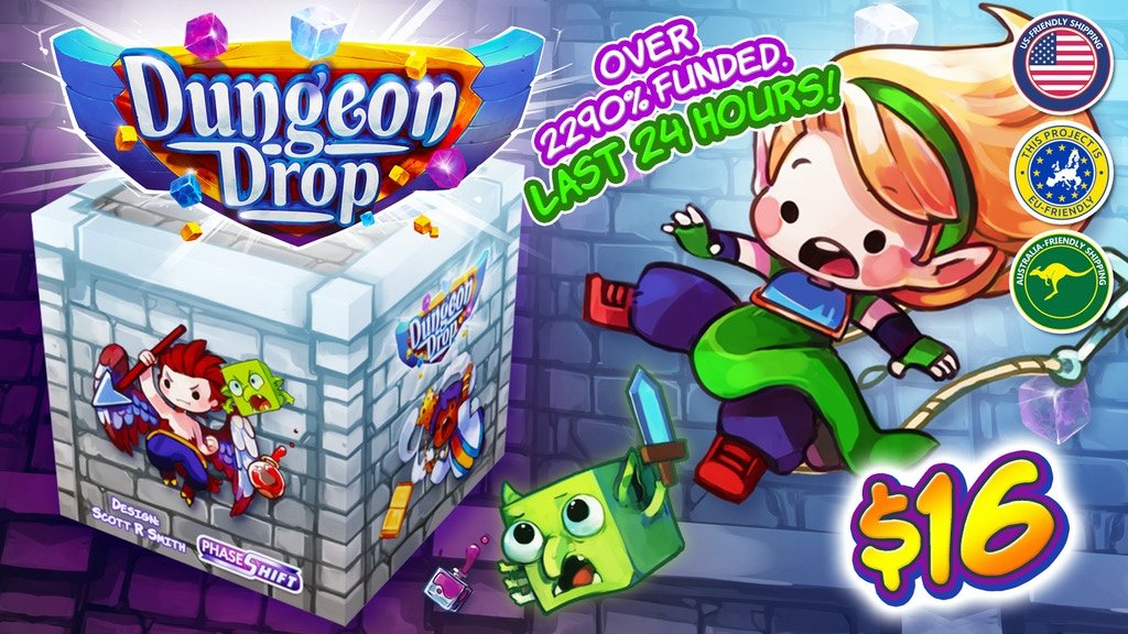Dungeon Drop project video thumbnail